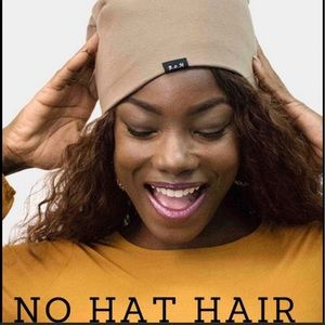 """""""No Hat Hair""""Silky Lined Beanies-Avail.-5 Colors"""